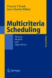 Multicriteria Scheduling by Vincent T'Kindt