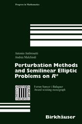 Perturbation Methods and Semilinear Elliptic Problems on R^n by Antonio Ambrosetti