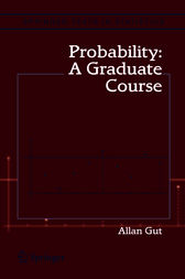 Probability: A Graduate Course by Allan Gut