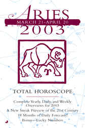 Total Horoscopes 2003: Aries by none