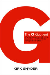 The G Quotient by Kirk Snyder