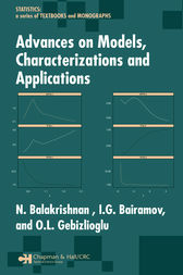 Advances on Models, Characterizations and Applications by N. Balakrishnan