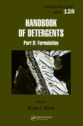 Handbook of Detergents, Part D by Michael Showell