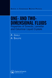 One- and Two-Dimensional Fluids by Antal Jakli