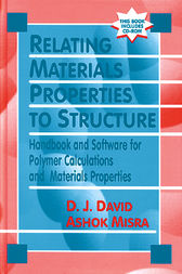 Relating Materials Properties to Structure with MATPROP Software by Donald J. David