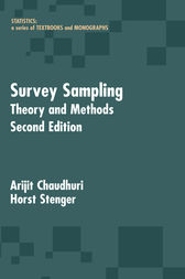 Survey Sampling by Arijit Chaudhuri