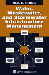 Water, Wastewater, and Stormwater Infrastructure Management by Neil S. Grigg