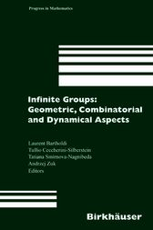 Infinite Groups: Geometric, Combinatorial and Dynamical Aspects by Laurent Bartholdi