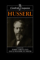 The Cambridge Companion to Husserl by Barry Smith