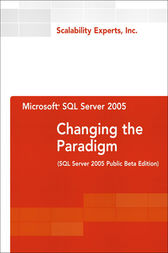 Microsoft SQL Server 2005 by Inc. Scalability Experts
