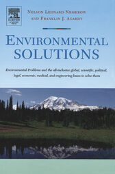 Environmental Solutions by Franklin J. Agardy
