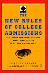 The New Rules of College Admissions by Stephen Kramer