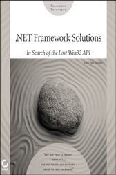 .NET Framework Solutions by John Paul Mueller