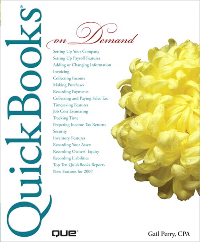 Download Ebook QuickBooks 2007 On Demand by Perry, Gail, CPA Pdf