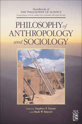 Philosophy of Anthropology and Sociology by Dov M. Gabbay