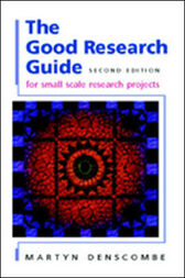 The Good Research Guide by Martyn Denscombe