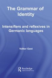 The Grammar of Identity by Volker Gast