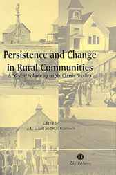 Persistence and Change in Rural Communities by A.E. Luloff