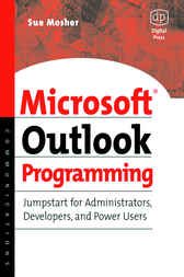 Microsoft Outlook Programming by Sue Mosher