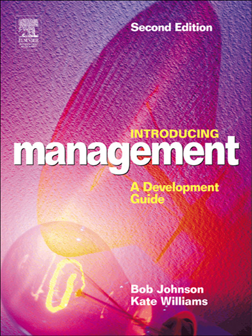 Download Ebook Introducing Management (2nd ed.) by Bob Johnson Pdf