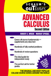 Schaum's Outline of Advanced Calculus, Second Edition by Robert Wrede