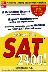 McGraw-Hill's SAT 2400! by Laurie Rozakis