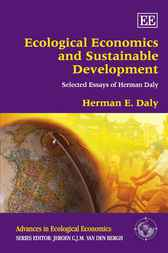 Download Ebook Ecological Economics and Sustainable Development, Selected Essays of Herman Daly by H.E.  Daly Pdf