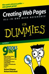 Creating Web Pages All-in-One Desk Reference For Dummies by Richard Wagner