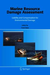 Marine Resource Damage Assessment by F. Maes
