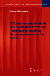 Efficient Numerical Methods and Information-Processing Techniques for Modeling Hydro- and Environmental Systems by Reinhard Hinkelmann