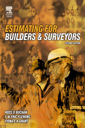 Estimating for Builders and Surveyors by R D Buchan