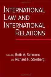 International Law and International Relations by Beth A. Simmons