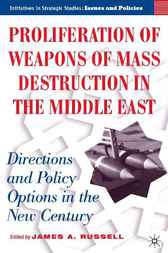 Proliferation of Weapons of Mass Destruction in the Middle East by James A. Russell