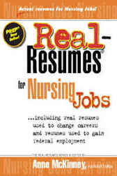 Download Ebook Real Resumes for Nursing Jobs by Anne McKinney Pdf
