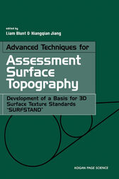 Advanced Techniques for Assessment Surface Topography by Liam Blunt
