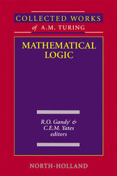 Mathematical Logic by R. O. Gandy