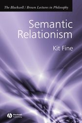 Semantic Relationism by Kit Fine