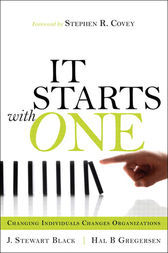 Starts with One, It by J. Stewart Black