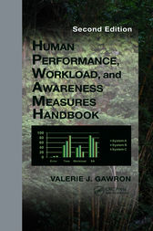 Human Performance, Workload, and Situational Awareness Measures Handbook, Second Edition by Valerie J. Gawron