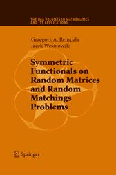 Symmetric Functionals on Random Matrices and Random Matchings Problems by Grzegorz Rempala