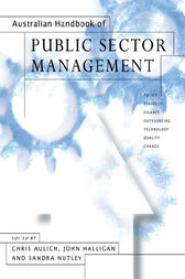 Australian Handbook of Public Sector Management by Chris Aulich