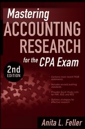 Mastering Accounting Research for the CPA Exam by Anita L. Feller