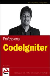 Professional CodeIgniter by Thomas Myer