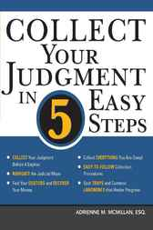 Collect Your Judgment in 5 Easy Steps by Adrienne McMillan