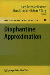 Diophantine Approximation by Robert F. Tichy