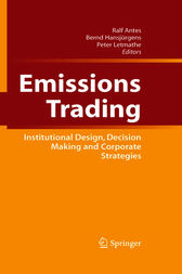Emissions Trading by Ralf Antes