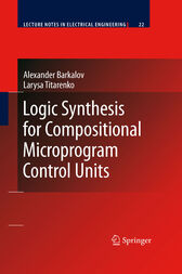 Logic Synthesis for Compositional Microprogram Control Units by Alexander Barkalov