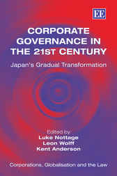 Corporate Governance in the 21st Century by L. Nottage