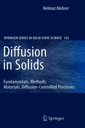 Diffusion in Solids by Helmut Mehrer
