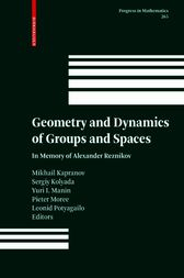 Geometry and Dynamics of Groups and Spaces by Mikhail Kapranov